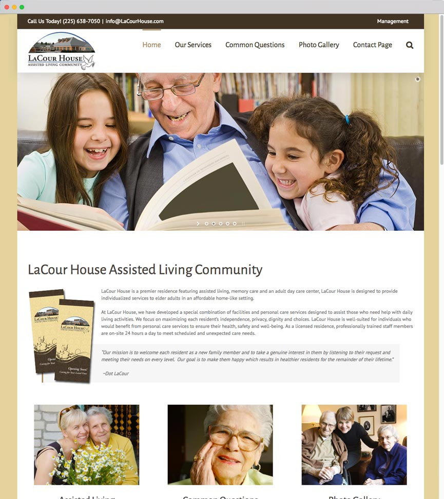 LaCour House Assisted Living Community