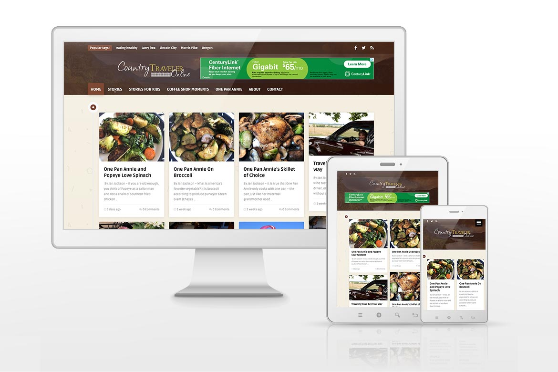 Country Traveler Online Website