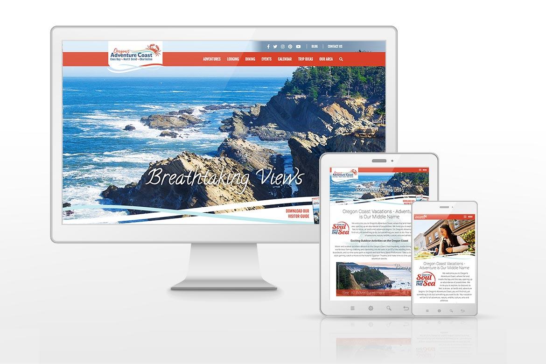 Oregon's Adventure Coast Website